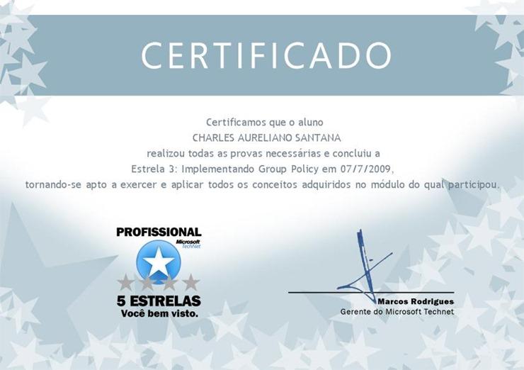 Certificadoespecialidade