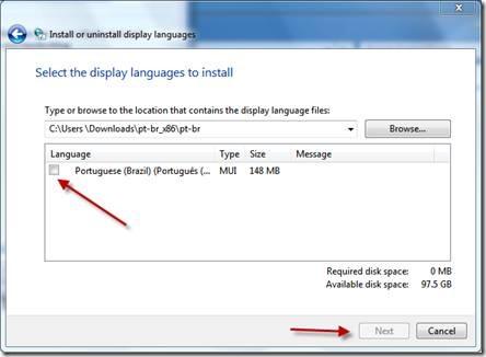 Download Oficial dos Pacotes de Línguas para o Windows 7 32-Bits (x86) e 64-Bits (x64) (5/6)