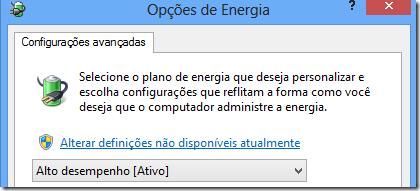 Deixando sempre com brilho intenso Windows 8 | Opções de Brilho (4/6)
